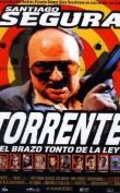 Emisión: Agosto 26 de 2012 Torrente es un policía español, fascista, machista, racista, alcohólico y del Atleti. Tiene un vecino llamado Rafi, al que le gustan las peliculas de acción y las pistolas, y que vive con su madre y su prima Amparito, una ninfómana. Juntos, Torrente y Rafi, patrullarán por la noche las calles de la ciudad. TÍTULO ORIGINAL […]